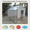 Plastic Polycarbonate Greenhouse For Sale