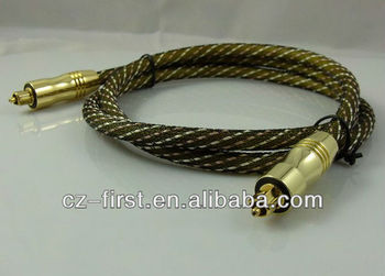 8m nylon Toslink Cable for home theatre