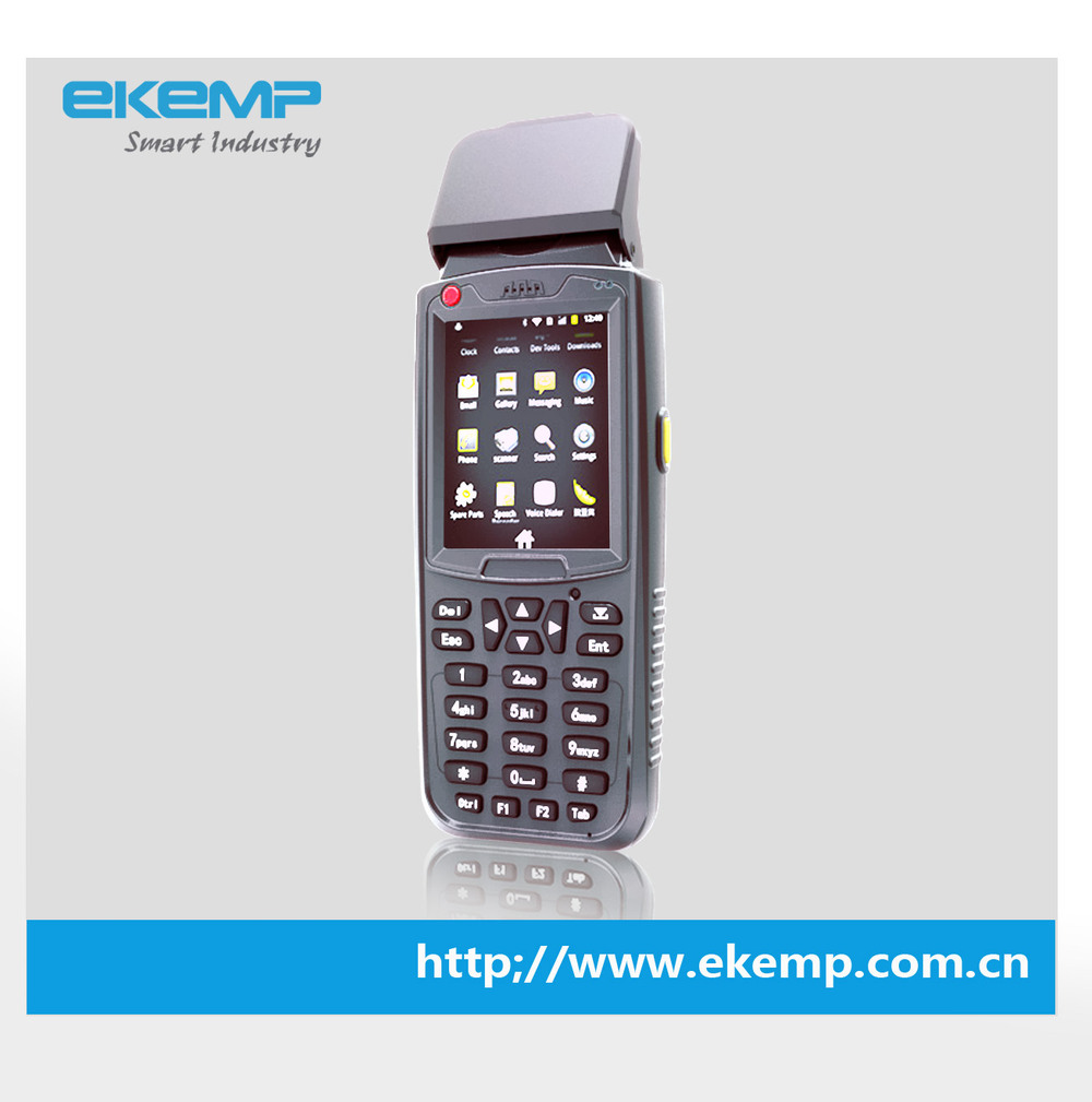 Economical Cost Biometric Handheld Terminal with Wireless Communication