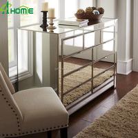 Elegant freshing bedroom Made in China Mirrored Dresser