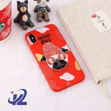 Wholesale Chinese New Year Dog Style Mobile Phone Case Cell Phone Cover For iPhoneX 6 7 8 Plus