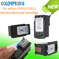 Best selling re-manufactured ink cartridge for canon PG-510 CL-511 For Canon PIXMA MP480