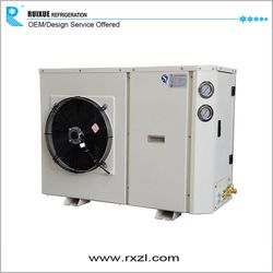 Large Capacity Cold Storage Room Refrigeration Condensing Unit 8p zb Series Compressors