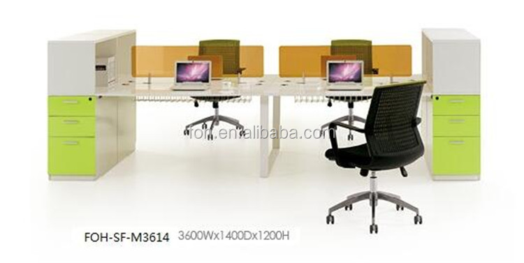 quality control open workstation partition by Chinese factory FOH-SF-M3614