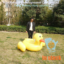New attractive product giant duck inflatable donut pool float