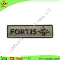 rectangular custom shape badge