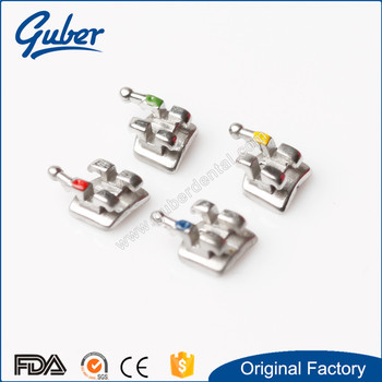 Manufacturer dental MIM monoblock bracket 345 hook From China supplier