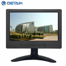 "Mini Size 7"" HD TFT LCD Color CCTV Monitor 7 Inches BNC monitor lcd panel with VGA Input"