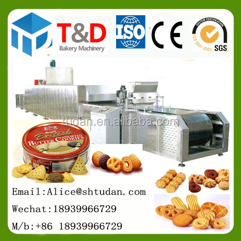 2017 Hot sale bakery food machine factory China Full automatic fortune production line wholesale custom fortune cookies machine