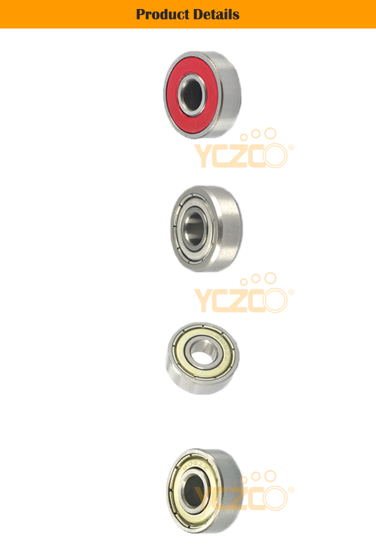 YCZCO-606GB3 miniature ball bearing 606 Stainless Steel Miniature Ball Bearing