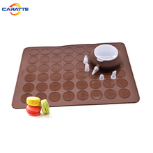 Homemade Non-stick Silicone Macaron Baking Mat with Decorating Cake Pen and Nozzles