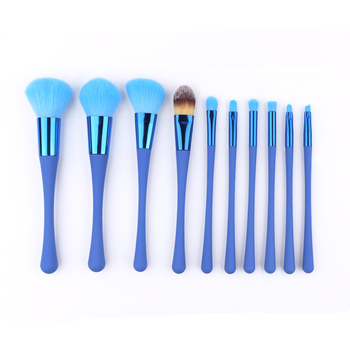 New design 10piece professional makeup brushes private label makeup bruush cosmetic brush