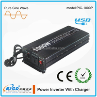 rechargeable 1000 watt pure sine wave power inverter with built in battery