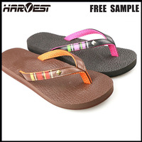Casual rubber eva flip flop slipper plain , cheap wholesale beach flip flop