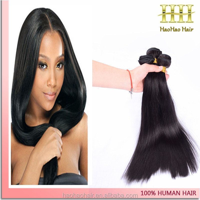 New fasion tending wholesale brazilian 7a grade straight 6 inch hair weaving
