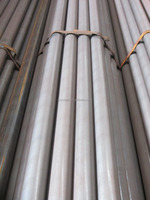 Black round Pipe with Zinc Coating