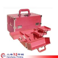red aluminum tool case