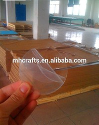 New 2.6mm,3mm Transparent Acrylic Sheet Price With Good Service