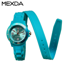 Silicone bracelet gift fancy kids watches for girls dressing china watch factory