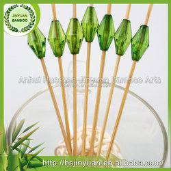 Wholesale Party And Hot Sales Fruit Picks Decorations By Bamboo Material
