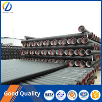 Ductile Iron Pipe EN545 K9, 6m Long ductile iron pipe Price