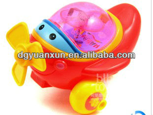 ICTI flash laser top toy with music