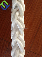 80mm PP rope/braid rope with spliced eye/polypropylene polyester nylon rope