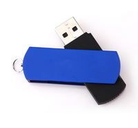 Lowest Slim Bulk Usb Flash Drives Swivel Usb Stick with Key Chain