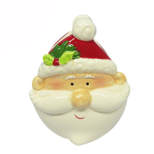 Christmas series ceramic christmas napkin holder