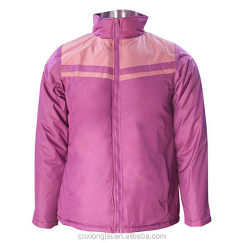 Clearance windproof lady jackets, apparel stock