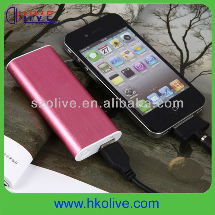 Li-polymer battery 1900mah micro usb power bank