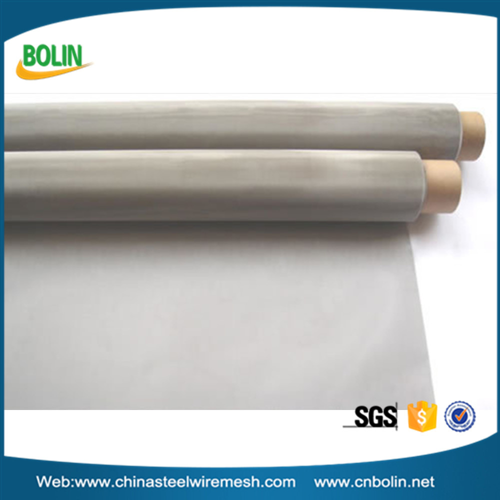 Ultra fine 100 120 150 200 300 500 micron UNS S32750 stainless steel woven wire mesh screen for filter