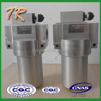 YPM 160 hydraulic Low pressure main Line filter used in pipe