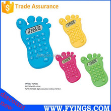foot shape 8 digit electronic promotional graphic beauty calculator