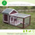Fashional China Supplier Large Size Wooden Rabbit Cage