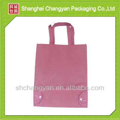 2015 new fashion Purple Non Woven Foldable Bag (NW-1020-T142)