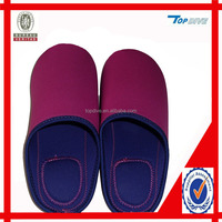 Neoprene slippers
