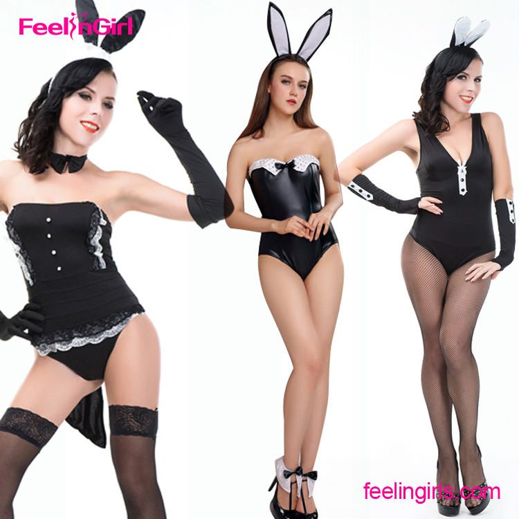 2016 Sample Free New Halloween Cosplay Girl Bunny Sexy Costumes