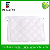 Personalized White diamond cosmetic bag make-up bag for women