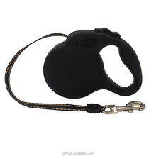 pet supplies retractable dog leash with reflective belt