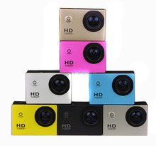 2.0 inch Cheap Action Camera Sport HD Mini DV 720P HD Waterproof Mini Camera Without Wire Diving Sport DV