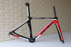 T800 super light frame carbon fiber road bicycle frame for Carbon bicycle parts