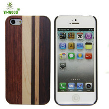 Wooden cell phone cover for iPhone5s housing