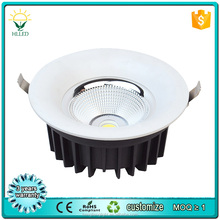 2016 most popular 10w 18w 20w rectangular led downlight recessed COB led downlight