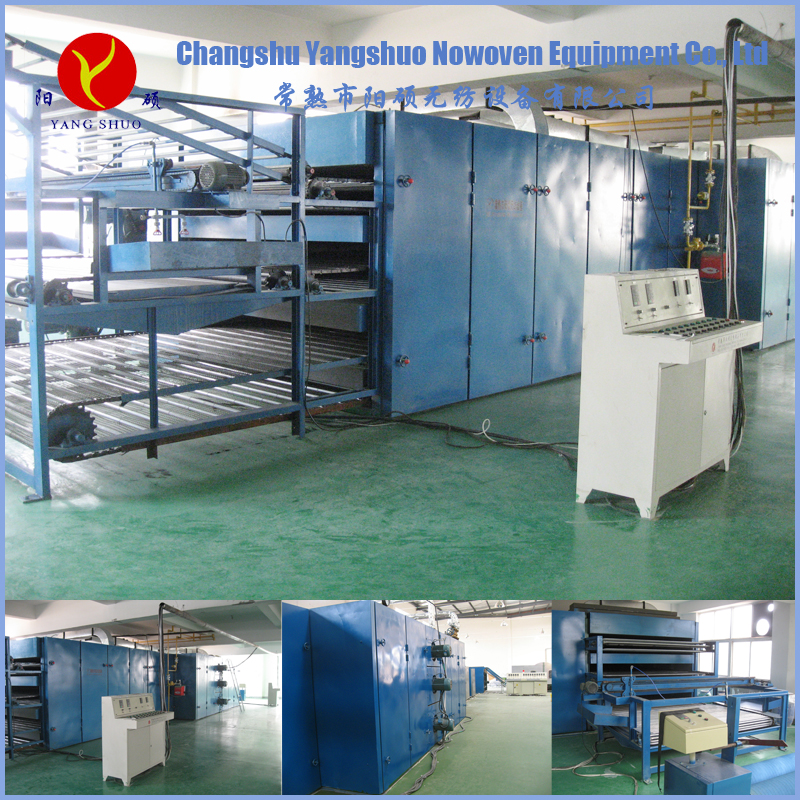 Customized glue free wadding production line
