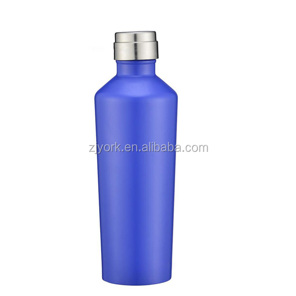 Keep ice cold 24 hours high quality double wall 18/8 stainless steel thermos drinking water bottle
