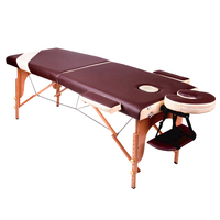 Portable Wooden Massage Table,portable massage table,thai massage table,solid wood massage table