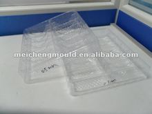 Plastic food compartment tray