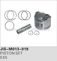 Motorcycle spare parts and accessories motorcycle piston set for EX5