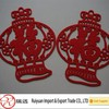 Chinese New year popular red felt door hanging decorations